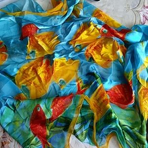 ECHO Accessories - ECHO SILK SCARF